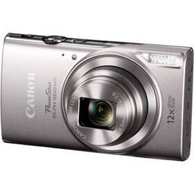 Canon PowerShot ELPH 360 HS Digital Camera (Silver