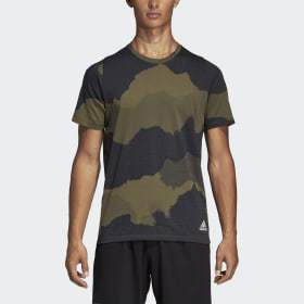 Adidas FreeLift Tech Camouflage Graphic Tee