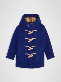 Burberry Double-faced Wool Duffle Coat in Brillian