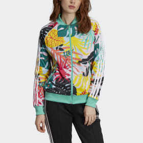 Adidas Tropicalage SST Graphic Track Jacket