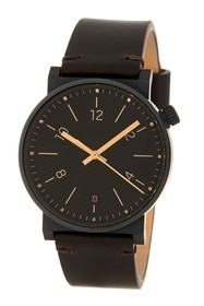 Fossil Men's Barstow Leather Strap Watch