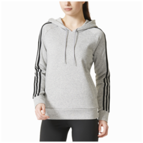 adidas Athletics 3-Stripes Cotton Hoodie