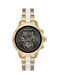 Michael Kors Runway Stainless Steel Two-Tone Touch