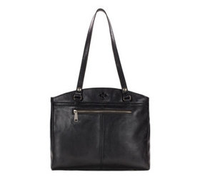 """""""As Is"""" Patricia Nash Leather Zip Top Tote - Poppy"""