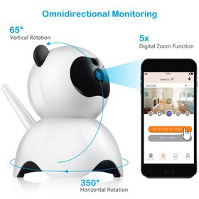 Wireless Wi-Fi Baby Monitor Alarm Home Security IP