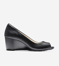 Cole Haan Sadie Open Toe Wedge (65mm)