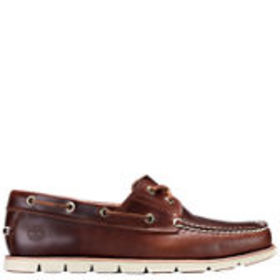 Timberland Men's Tidelands 2-Eye Leather Boat Shoe