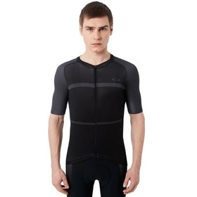 Oakley Colorblock Road Jersey - Blackout