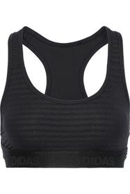 ADIDAS ORIGINALS Cutout jacquard-knit sports bra