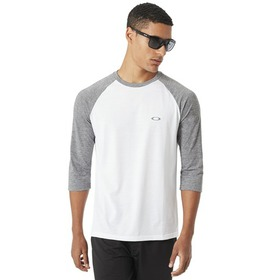Oakley Link 3/4 Sleeve - Athletic Heather Grey