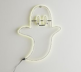 Pottery Barn LED Ghost Wall Decor