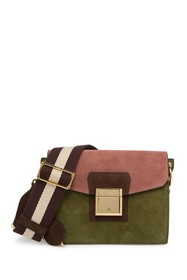 BALLY Suede Crossbody Bag
