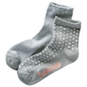 Timberland Women's Polka-Dot Crew Socks (2-Pack)