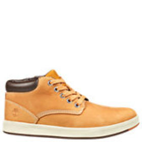 Timberland Junior Davis Square Leather Chukka Shoe