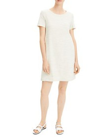 Theory - Paneled Mini Shift Dress