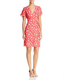 FRENCH CONNECTION - Frances Faux-Wrap Floral Dress