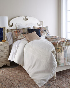 Pom Pom at Home Queen Allegra Duvet Cover with Emb