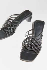 UO Knotted Crochet Mule Sandal