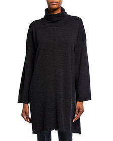 Mackinnon International K Wool Turtleneck Top