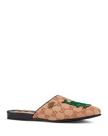Gucci - Women's Los Angeles Angels™ Round Toe Leat