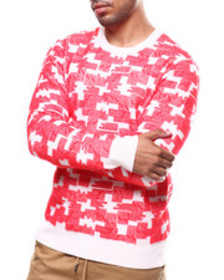 WESC puzzle check sweater