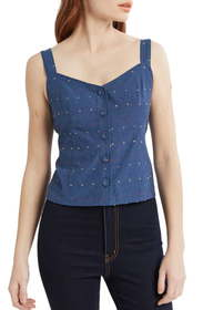 ModCloth Bustier Seamed Tank (Regular & Plus Size)