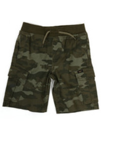 Lee stretch pull-on cargo shorts (4-7)