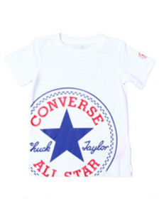 Converse oversized patched s/s tee (4-7)