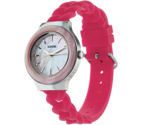 """""""As Is"""" Honora Mother-of-Pearl Silicone Strap Stai"""