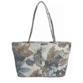 Latico Mimi Floral East-West Tote Bag - Leather (F