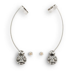 Star Wars BB-8 Ear Cuff and Crystal Stud Earrings