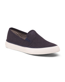 SPERRY Slip On Sneakers With Memory Foam Footbed