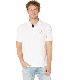 Nautica Solid Classic Fit Navtech Polo