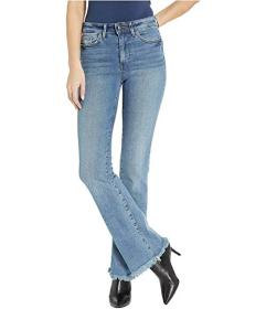 Sam Edelman Stiletto High-Rise Bootcut Jeans in We