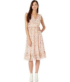 Betsey Johnson Bug Garden Ruffled Maxi Dress