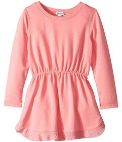 Splendid Littles Long Sleeve Flounce Dress (Toddle