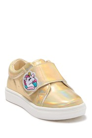 Nicole Miller Slide Patches Single Strap Sneaker (
