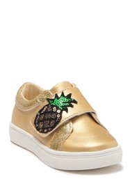 Nicole Miller Pearlized Sequin Sneaker (Toddler)