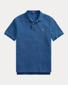 Ralph Lauren Indigo Mesh Polo Shirt - All Fits