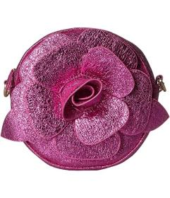 Betsey Johnson Glitter Rosette Crossbody