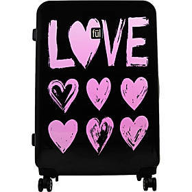 "Ful Love 25"" Hardside Checked Spinner Luggage"