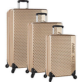 Anne Klein Siena 3 Piece Expandable Hardside Spinn
