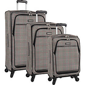 Nine West Luggage Girls Trip 3 Piece Expandable Sp
