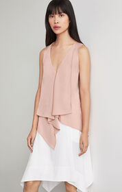 BCBG Cyprien Asymmetrical Top