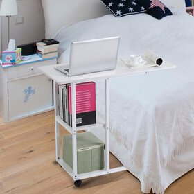 Hilitand Overbed Table Portable Computer Laptop St