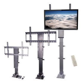 Pinty Motorized TV Lift Stand with Remote Control