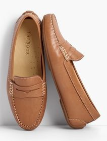 Talbots Taylor Penny-Keeper Driving Moccasins