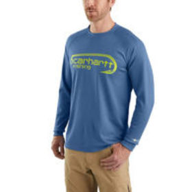 Carhartt Men's Force Fishing Graphic Long-Sleeve T