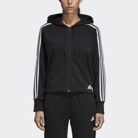 Adidas Must Haves 3-Stripes French Terry Hoodie