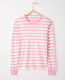 Hanna Andersson Adult Long John Top In Organic Cot